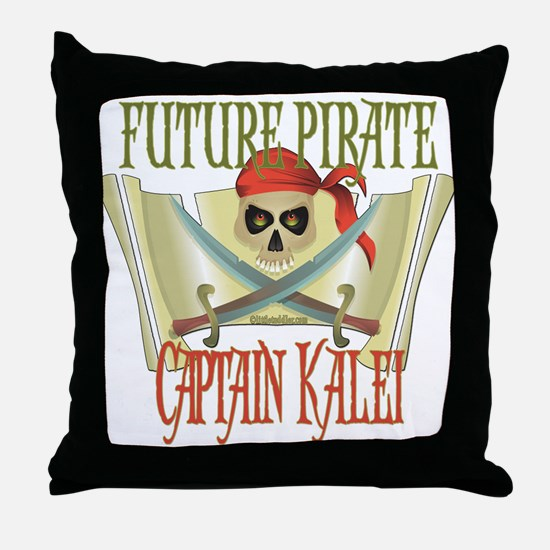 Captain Kalei Throw Pillow