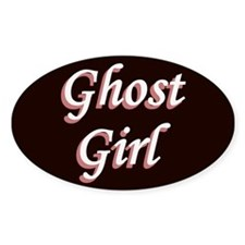 Ghost Girl Pink Window Decal