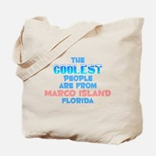 Coolest: Marco Island, FL Tote Bag