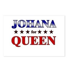 JOHANA for queen Postcards (Package of 8)