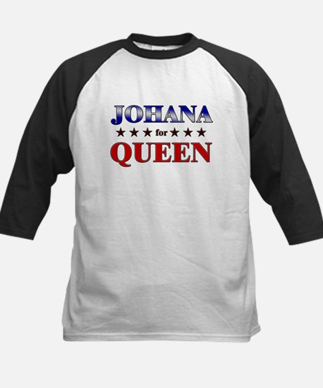 JOHANA for queen Kids Baseball Jersey