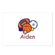 Aiden Postcards (Package of 8)