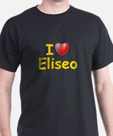 I Love Eliseo (L) T-Shirt