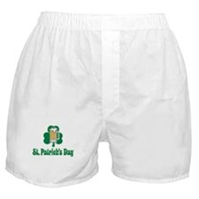St. Paddy's Day - No Time To Boxer Shorts
