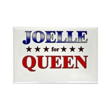 JOELLE for queen Rectangle Magnet