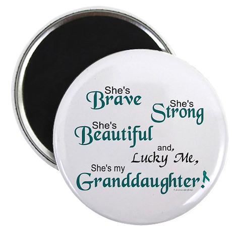 """Lucky Me 1 (Granddaughter OC) 2.25"""" Magnet (100 pa"""