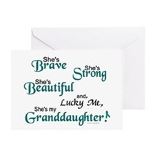 Lucky Me 1 (Granddaughter OC) Greeting Card