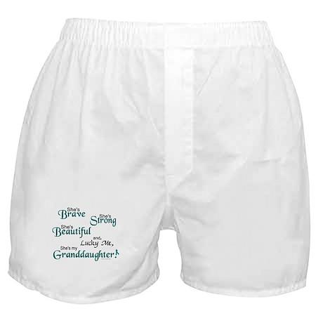 Lucky Me 1 (Granddaughter OC) Boxer Shorts