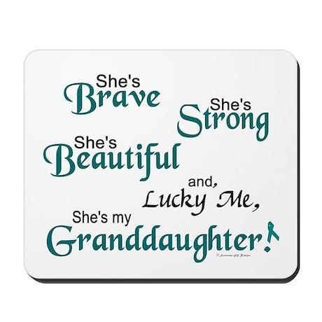 Lucky Me 1 (Granddaughter OC) Mousepad