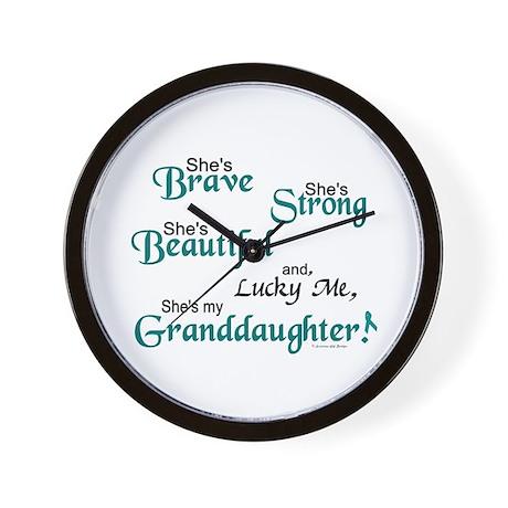 Lucky Me 1 (Granddaughter OC) Wall Clock