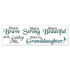 Lucky Me 1 (Granddaughter OC) Bumper Bumper Sticker