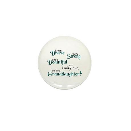 Lucky Me 1 (Granddaughter OC) Mini Button