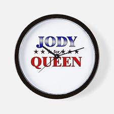 JODY for queen Wall Clock