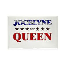 JOCELYNE for queen Rectangle Magnet
