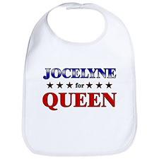 JOCELYNE for queen Bib