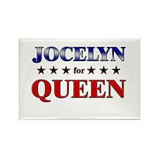 JOCELYN for queen Rectangle Magnet