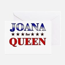 JOANA for queen Greeting Card