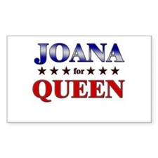 JOANA for queen Rectangle Decal