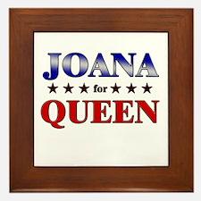 JOANA for queen Framed Tile