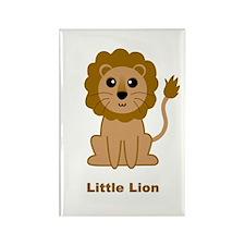 Little Lion Rectangle Magnet