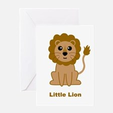Little Lion Greeting Card
