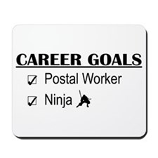 Postal Worker Career Goals Mousepad