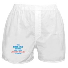 Coolest: Jensen Beach, FL Boxer Shorts