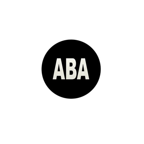 ABA Mini Button (100 pack)