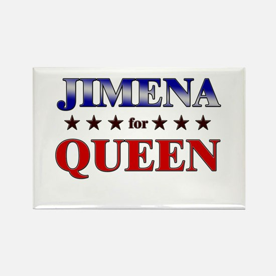 JIMENA for queen Rectangle Magnet