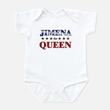 JIMENA for queen Infant Bodysuit