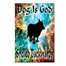 Dog Is God Postcards (Package of 8)