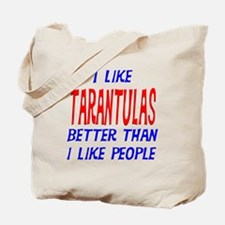 I Like Tarantulas Tote Bag