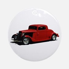 Helaine's Hot Rod 2 Ornament (Round)