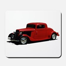 Helaine's Hot Rod 2 Mousepad