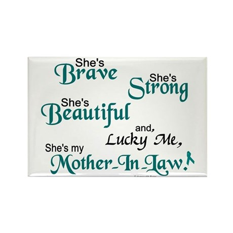 Lucky Me 1 (Mother-In-Law OC) Rectangle Magnet (10