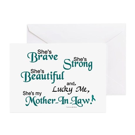 Lucky Me 1 (Mother-In-Law OC) Greeting Cards (Pk o
