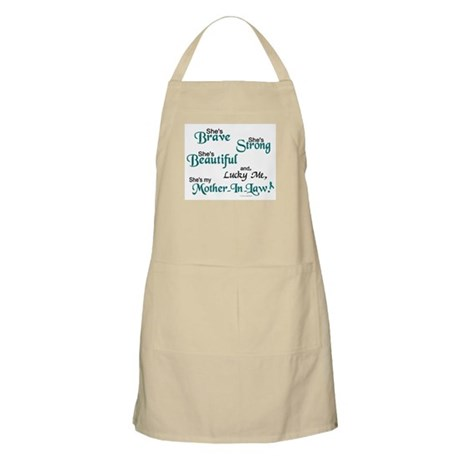 Lucky Me 1 (Mother-In-Law OC) BBQ Apron