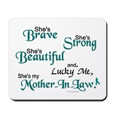 Lucky Me 1 (Mother-In-Law OC) Mousepad