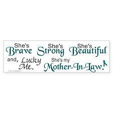 Lucky Me 1 (Mother-In-Law OC) Bumper Bumper Sticker