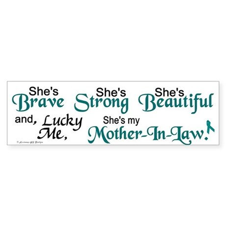 Lucky Me 1 (Mother-In-Law OC) Bumper Sticker