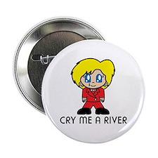 "Hillary Clinton Crying 2.25"" Button"