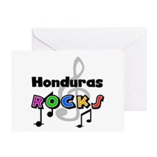 Honduras Rocks Greeting Card