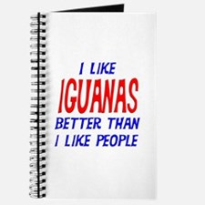 I Like Iguanas Journal