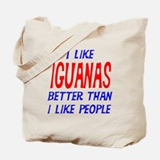 I Like Iguanas Tote Bag