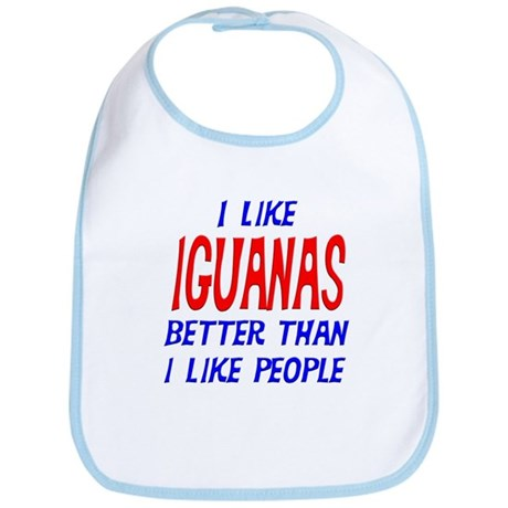 I Like Iguanas Bib