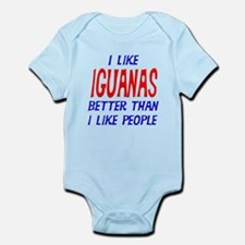 I Like Iguanas Infant Bodysuit