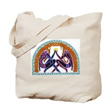 Celtic Lovers Tote Bag