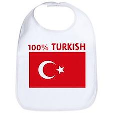 100 PERCENT TURKISH Bib