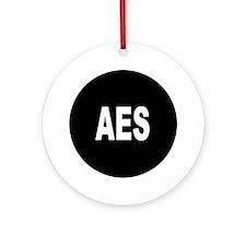 AES Ornament (Round)
