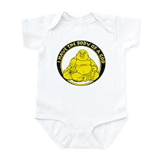 I Have The Body Of A God Infant Bodysuit